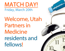 Utah Partners in Medicine - Match Day is March 20, 2015