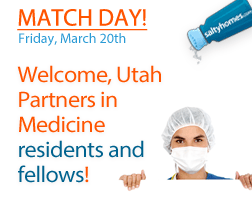 Utah Partners in Medicine - Match Day is March 15, 2019